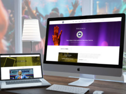 New Dawn Worship Centre Responsive web design - UI/UX Design Expert in Lagos